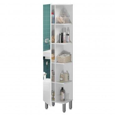Coluna de Casa de Banho Teckno (1 Porta com Espelho)