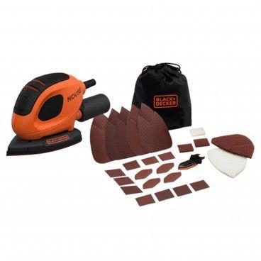 Lixadora Mouse 55W Black&Decker BEW230BC-QS