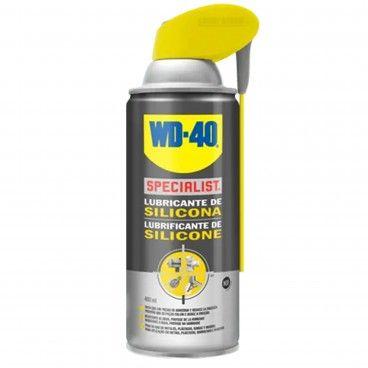 Lubrificante de Silicone WD-40 Dupla Ação Spray 400ml