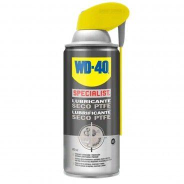 Lubrificante Seco PTFE WD-40 Dupla Ação Spray 400ml