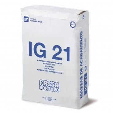 Fassa Bartolo IG 21 Massa de Acabamento 25kg