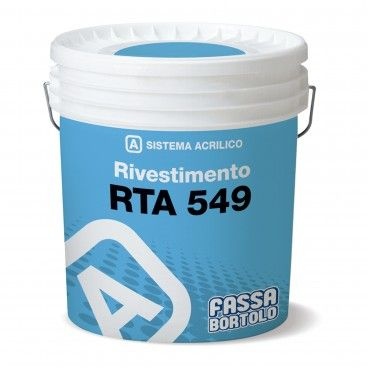 Fassa Bortolo RTA 549 Revestimento Acrilico 25kg