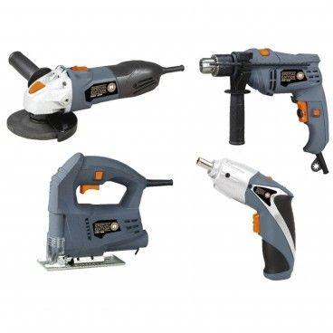 Kit 4 Ferramentas Elétricas Mader MSE Special Edition