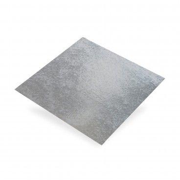 Chapa de Aço Galvanizado Liso 0,55mm