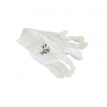 Luvas de Nylon Branco