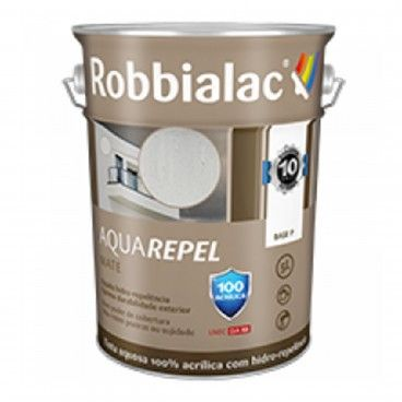 Tinta para Fachadas Aquarepel Robbialac