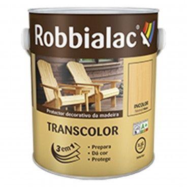 Transcolor Proteção e Decoração Mate Incolor Robbialac 4L