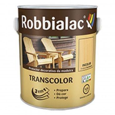 Transcolor Proteção e Decoração Brilhante Incolor Robbialac 4L