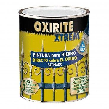 Tinta para Ferro Acetinada Xtrem Oxirite