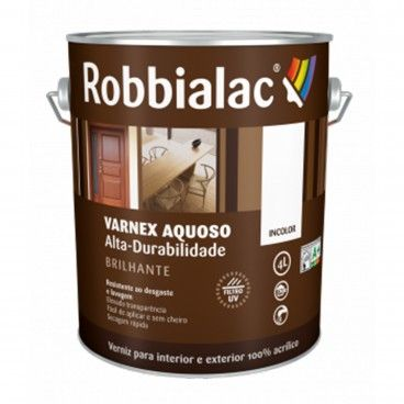 Verniz Alta-Durabilidade Aquoso Varnex Robbialac