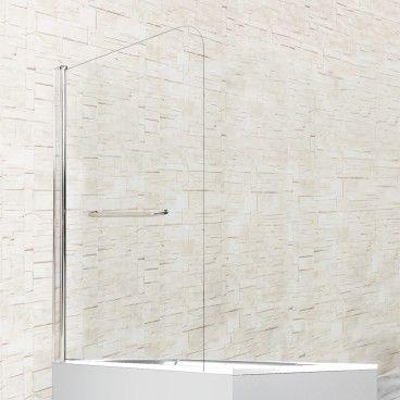 Painel de Banheira Simples com Toalheiro 85x140