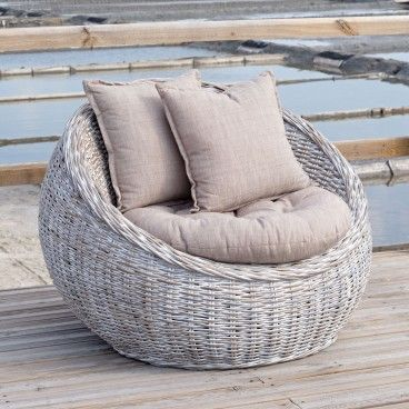 Sofá de Jardim 1 Lugar Kubu