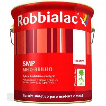 Esmalte Sintético para Madeira e Metais Meio-Brilho SMP Robbialac