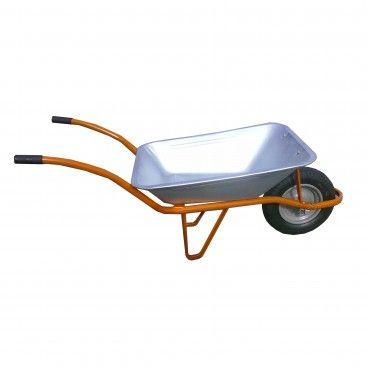 Carro de Mão Compacto com Roda Pneumática 75L