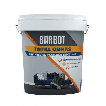 Tinta para Paredes e Tetos Barbot Total Obras Premium