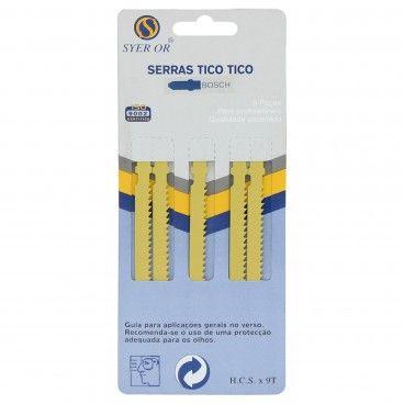 Jogo de Serras Tico-Tico 5 Peças Ref.0303 6P