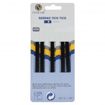 Jogo de Serras Tico-Tico 5 Peças Ref.1302 5P