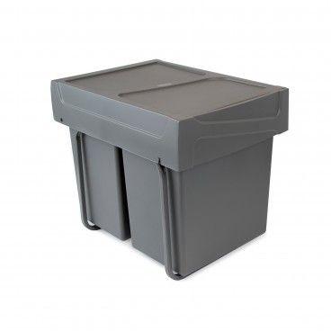 Balde de Lixo Recycle 2x20L