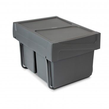 Balde de Lixo Recycle 2x15L