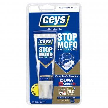 Silicone Stop Mofo Ceys Branco 50ml