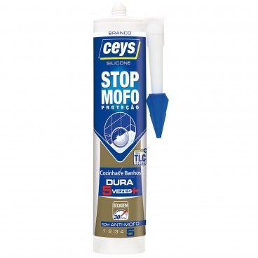 Silicone Stop Mofo Ceys Branco 280ml