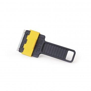 Raspa-Vidros Preto/Amarelo