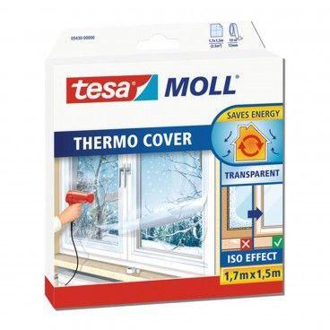 Película Plástica para Vidros Tesa Tesamoll Thermo Cover 170mmx150mm