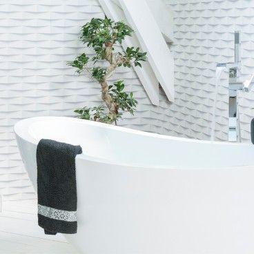 Revestimento PVC 3D Bricks 260x37.5